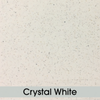 Table Top - Crystal White