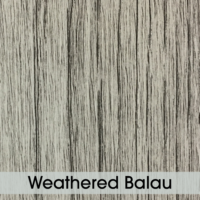 Table Top - Weathered Balau