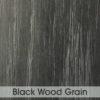 Table Top - Black Wood Grain 600 x 600