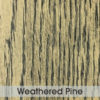 Table Top - Weathered Pine 600 x 600