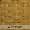 Weave Colours - Craft Brown 600 x 600