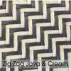 Weave Colours - Zig Zag Java & Cream 600 x 600