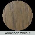 American Walnut finish