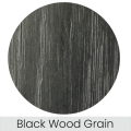 Black Wood finish