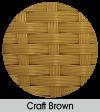 Craft brown finish