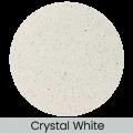 Crystal White finish