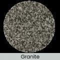 Granite finish