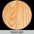Solid Ash finish