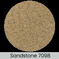 Sandstone finish